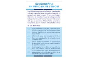 Ozonoteràpia en medicina de l'esport